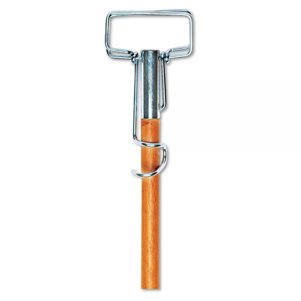 UNISAN Spring Grip Metal Head Mop Handle