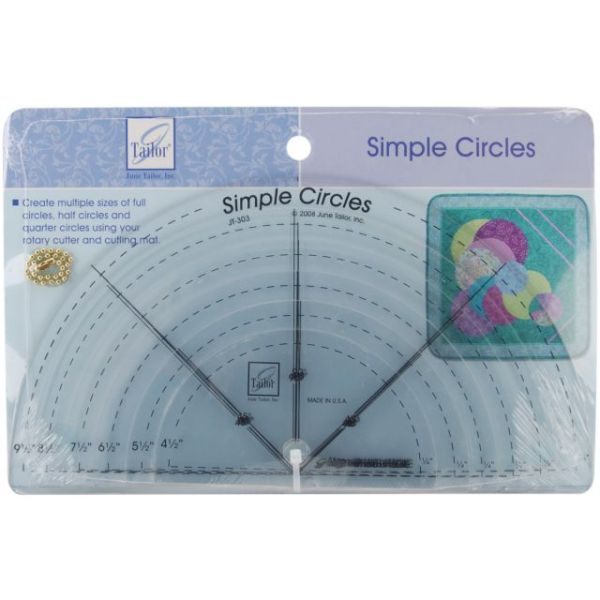 Simple Circles Rotary Cutting Rulers