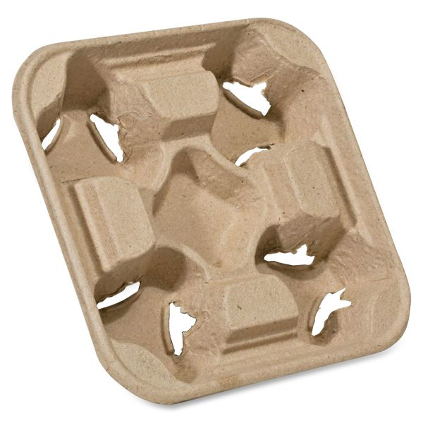 NatureHouse Heavyweight 4-Cup Carry Trays