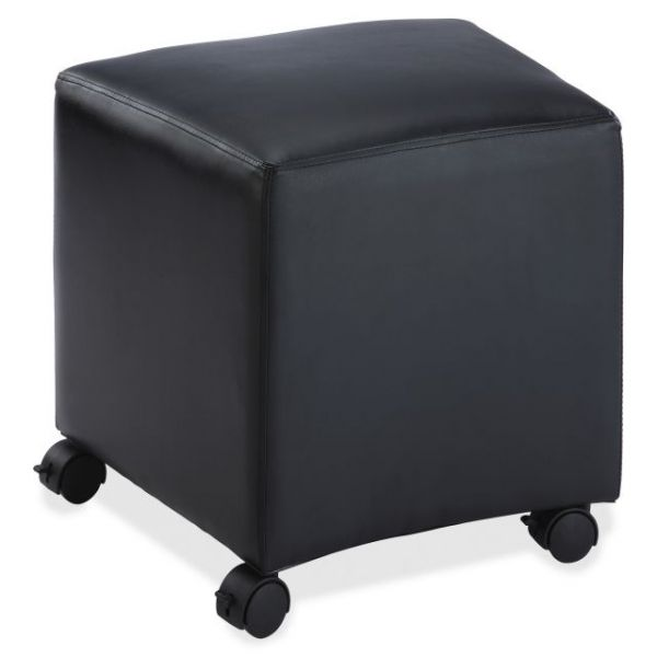 Lorell Cube Leather Mobile Seat