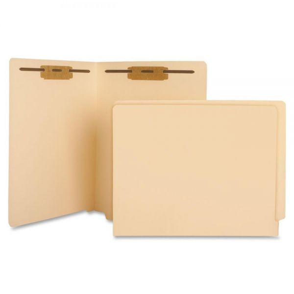 Sparco End Tab File Folders With Fasteners