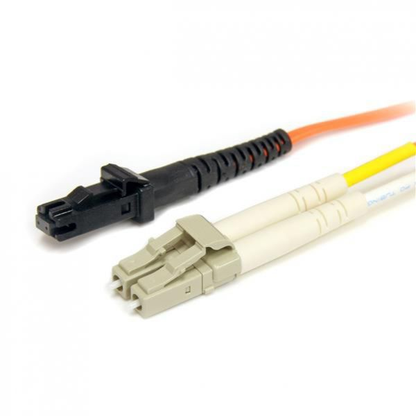 StarTech.com 3m Multimode 50/125 Duplex Fiber Patch Cable LC - MTRJ