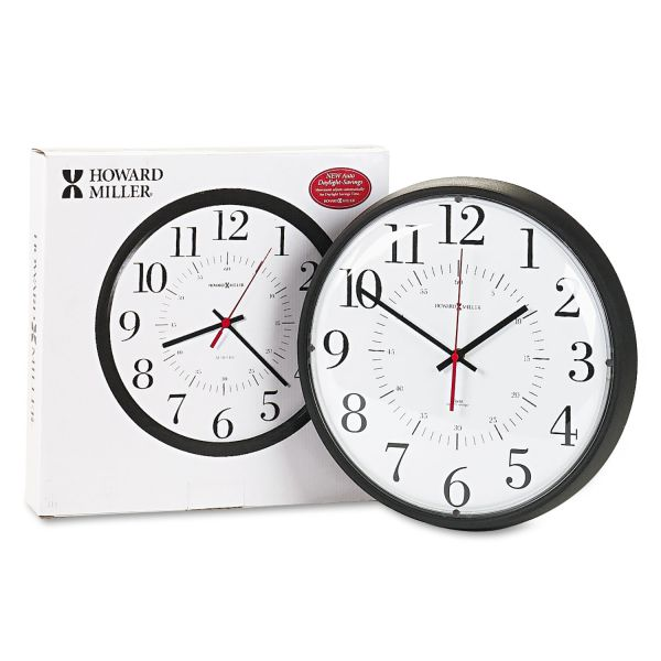 Howard Miller Alton Auto Daylight Savings Wall Clock