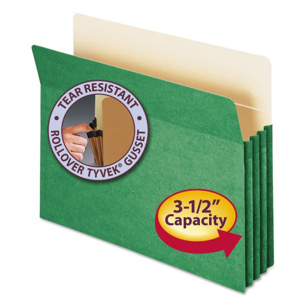 Smead 73226 Green Colored File Pocket