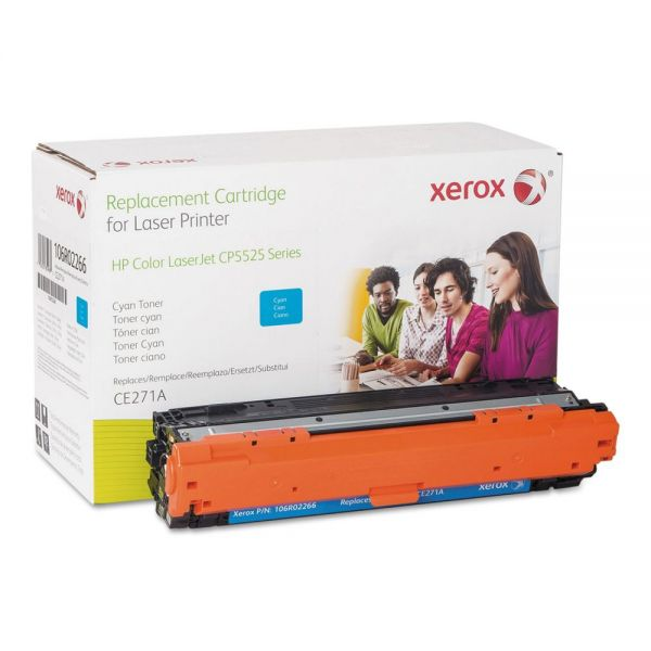 Xerox 106R02266 Replacement Toner for CE271A (650A), Cyan