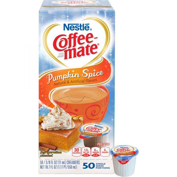 Coffee-mate Liquid Pumpkin Spice Coffee Creamer Cups