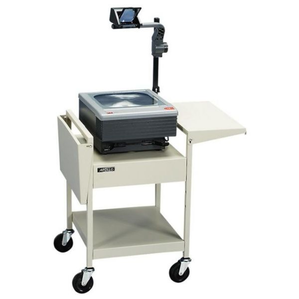 Quartet Adjustable Overhead Projector Cart