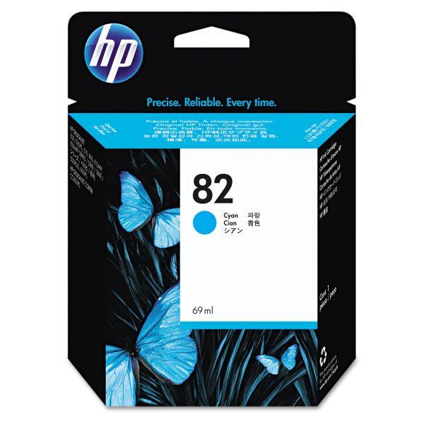 HP 82, (C4911A) Cyan Original Ink Cartridge