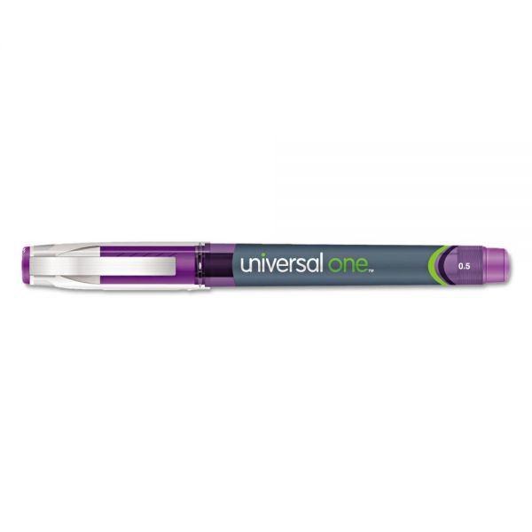 Universal High Capacity Roller Ball Stick Gel Pens