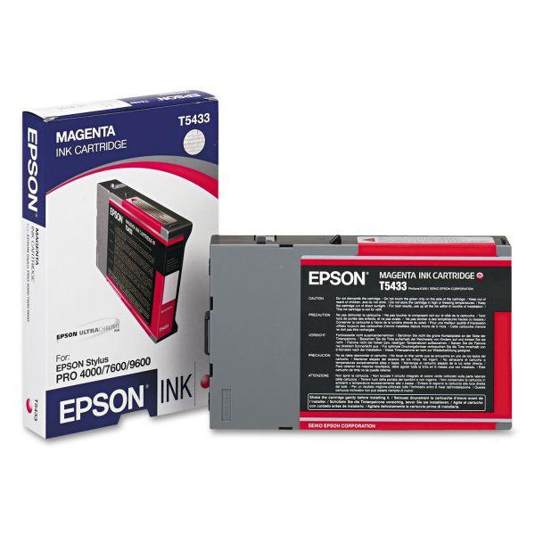 Epson T5433 Magenta Ink Cartridge