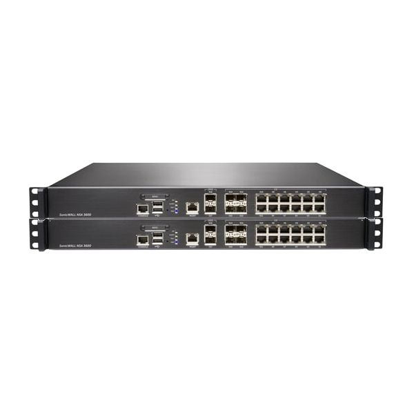 SonicWALL NSA 3600 Network Security Appliance