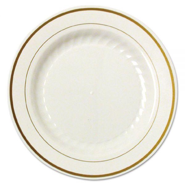 "WNA Masterpiece 9"" Plastic Plates"