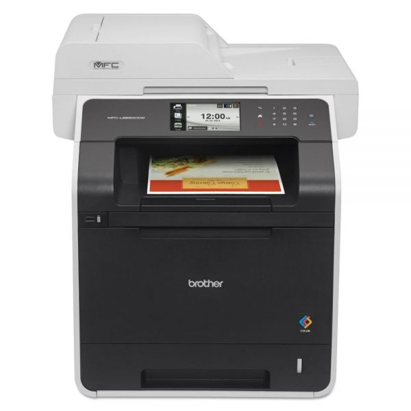 Brother MFC-L8850CDW Wireless Color Laser All-in-One, Duplex Printing/Scanning