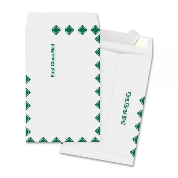 "Business Source 6"" x 9"" First Class Tyvek Envelopes"
