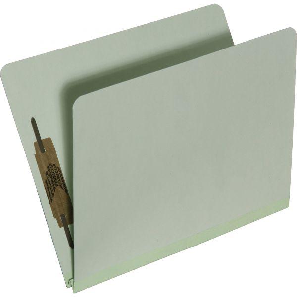 SKILCRAFT Pressboard Top Tab File Folders With Fasteners