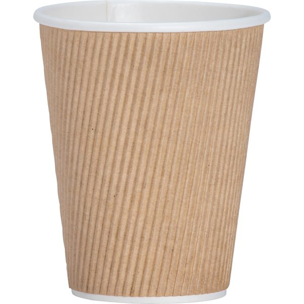 Genuine Joe Ripple 12 oz Coffee Cups