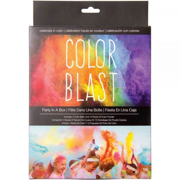 Color Blast Party In A Box