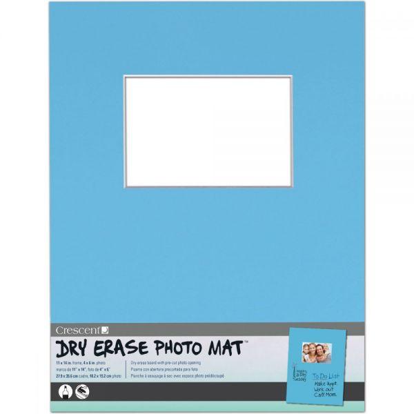 "Dry-Erase 11""X14"" Photo Mat Holds 4""X6"" Photo"