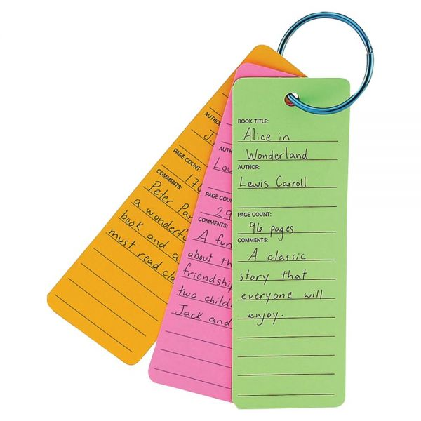 Hygloss Bright Book Buddies Bookmarks