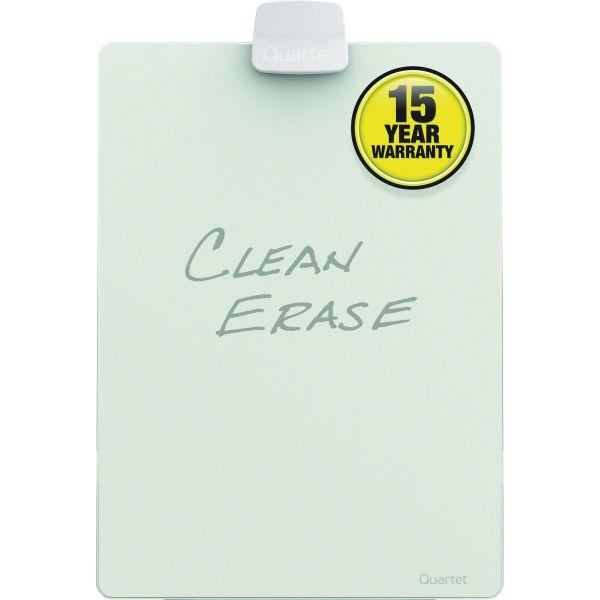 Quartet Glass Dry Erase Desktop Easel