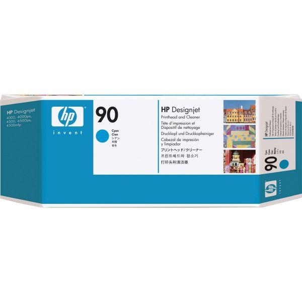 HP 90 Cyan Printhead & Cleaner (C5055A)
