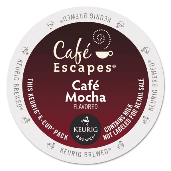 Café Escapes Café Mocha Coffee K-Cups