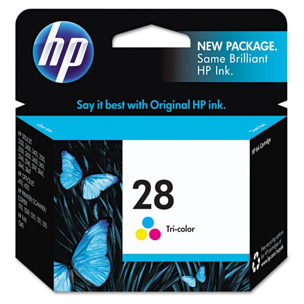 HP 28 Tri-Color Ink Cartridge (C8728AN)