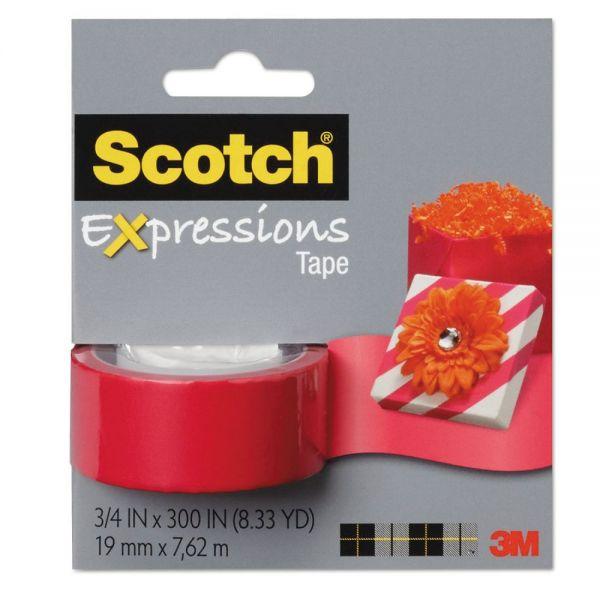 Scotch Expressions Transparent Tape Refill