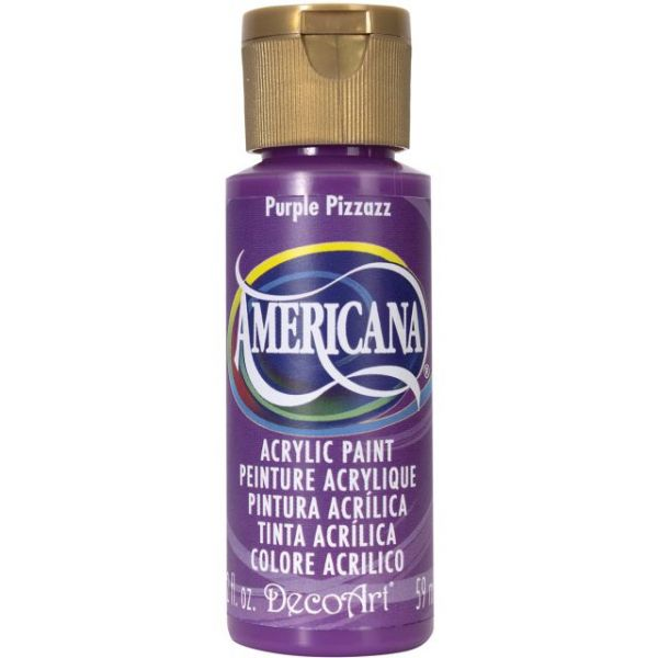 Deco Art Americana Purple Pizzazz Acrylic Paint