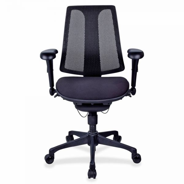 Lorell Posture Lock Mesh Back Office Chair