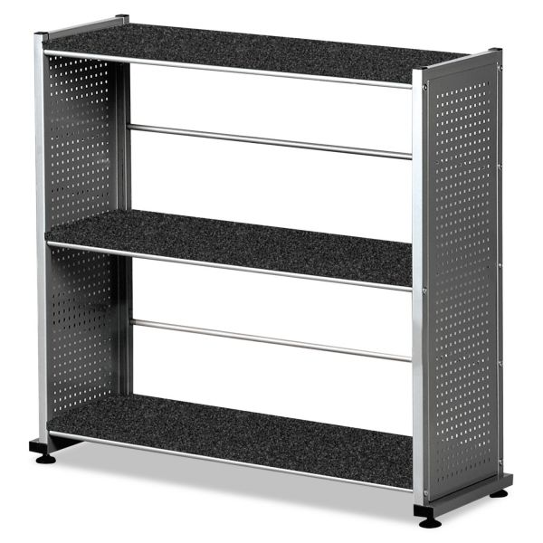 Mayline Eastwinds 993 Accent 3-Shelf Steel Bookcase