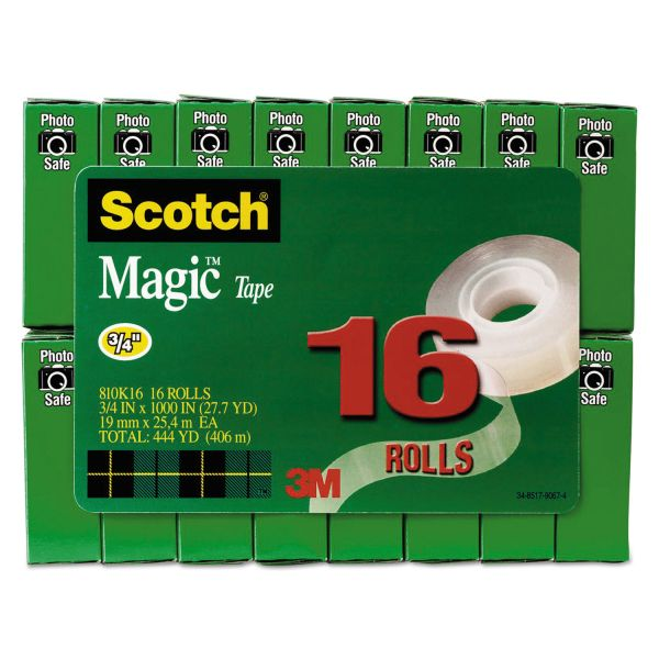 "Scotch 3/4"" Magic Tape Refill Value Pack"