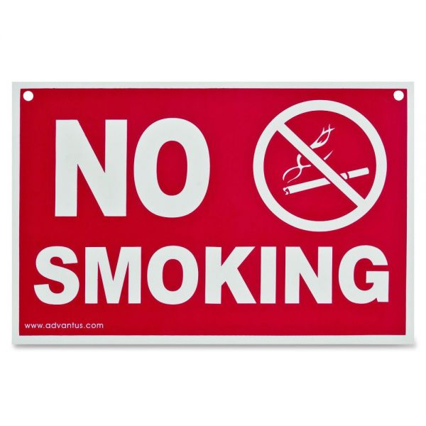 "Advantus ""No Smoking"" Wall Sign"