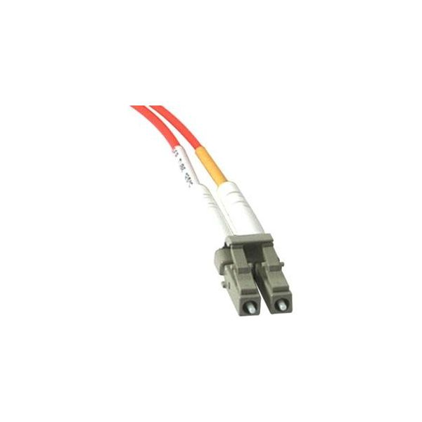 5m LC-SC 62.5/125 OM1 Duplex Multimode PVC Fiber Optic Cable - Orange