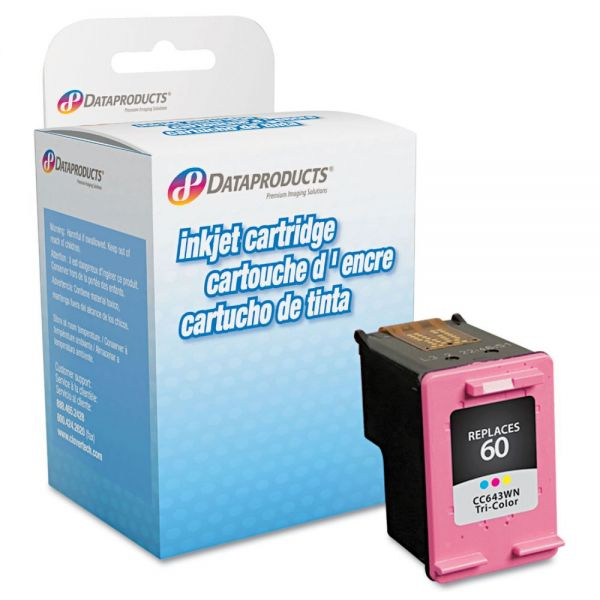 Dataproducts Remanufactured HP 60 Color Ink Cartridge