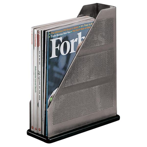 Rolodex Distinctions Metal Magazine Holder