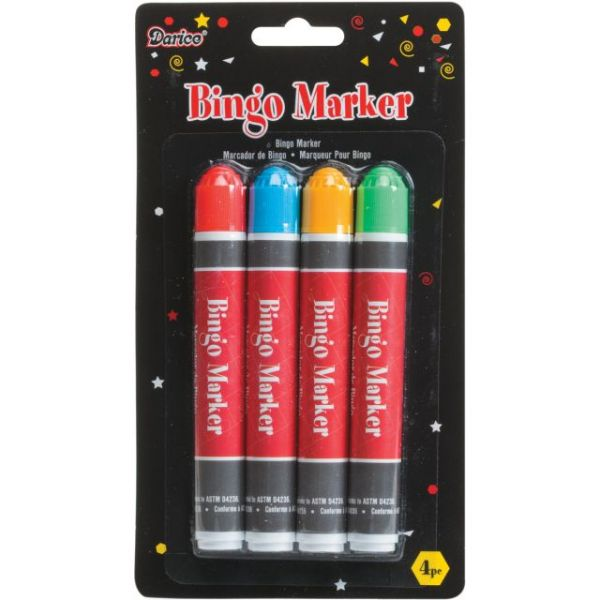Bingo Marker 4/Pkg