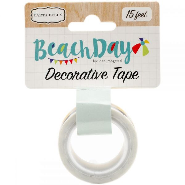 Beach Day Decorative Tape
