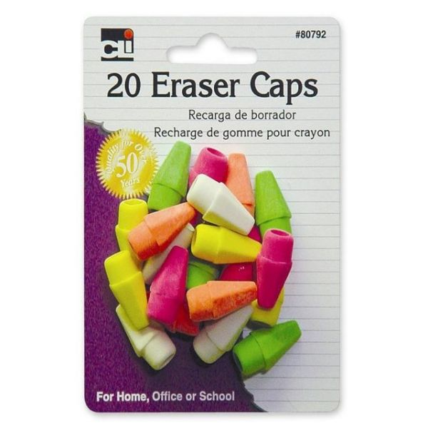 CLI Latex-Free Pencil Eraser Caps