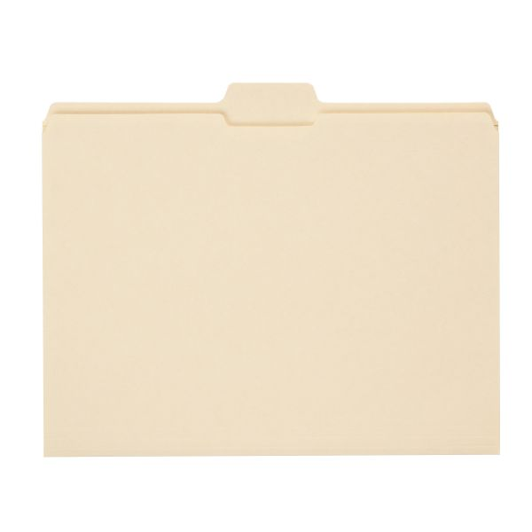 Smead Reinforced Top Tab File Folder