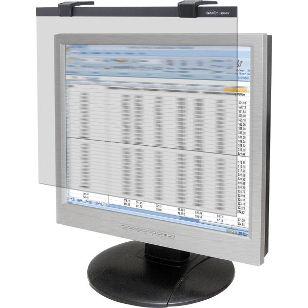 """Compucessory 19""""-20"""" Widescreen LCD Privacy Filter Clear"""