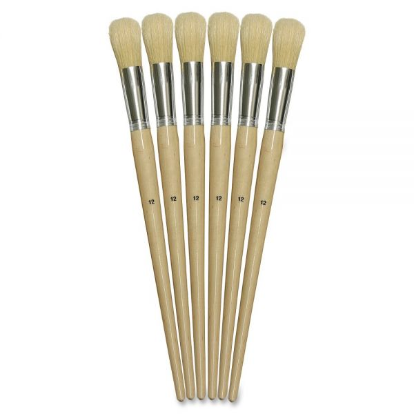 ChenilleKraft Round Bristle Brush Set