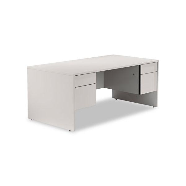 Genoa Series Double Pedestal Computer Desk