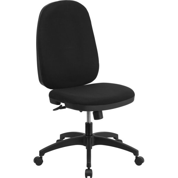 Flash Furniture High Back Multi-Functional Task Chair with Back Angle Adjustment