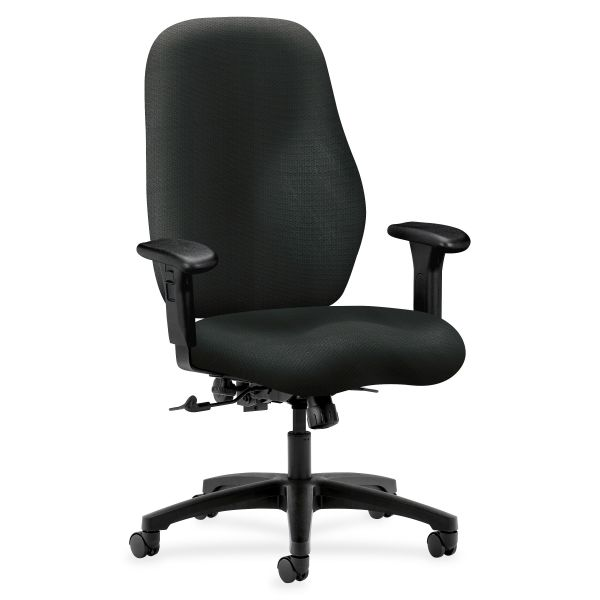 HON 7800 Series High-Back Executive/Task Chair, Tectonic Black