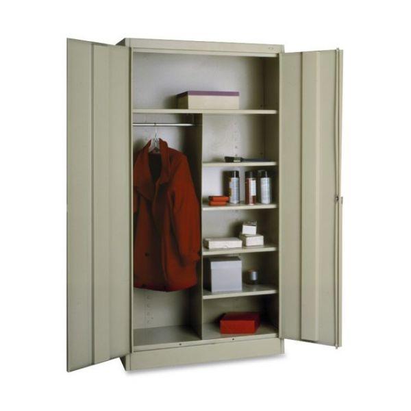 Tennsco Standard Combination Wardrobe/Storage Cabinet