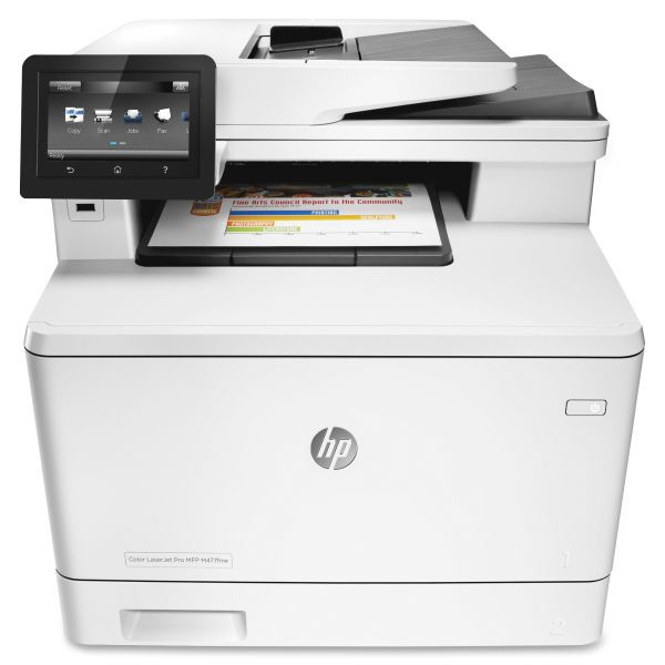 HP Color LaserJet Pro MFP M477fnw Wireless Multifunction, Copy/Fax/Print/Scan