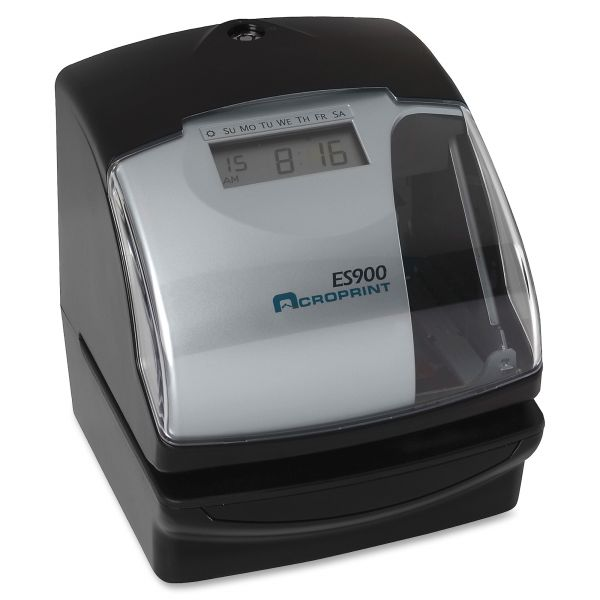 Acroprint ES900 Electronic Stamp/Time Recorder