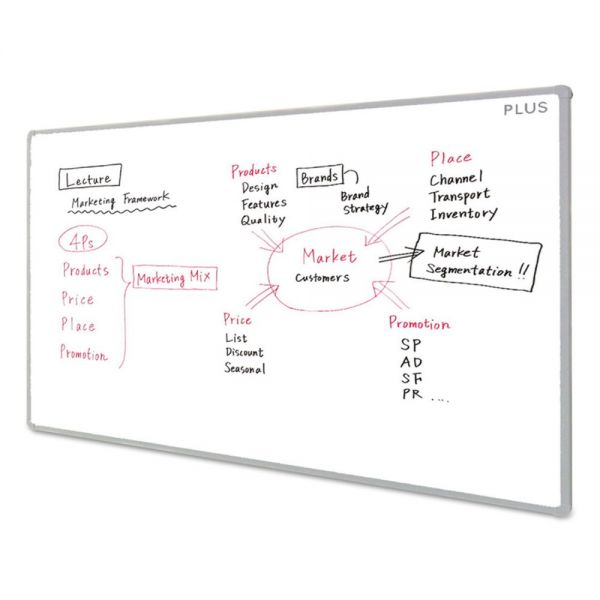 PLUS MTG Electronic Whiteboard, 70.9 x 47.3