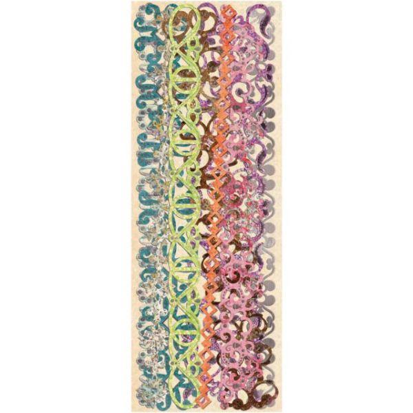 Jubilee Adhesive Paper Borders